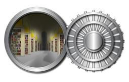 The Vault, white background