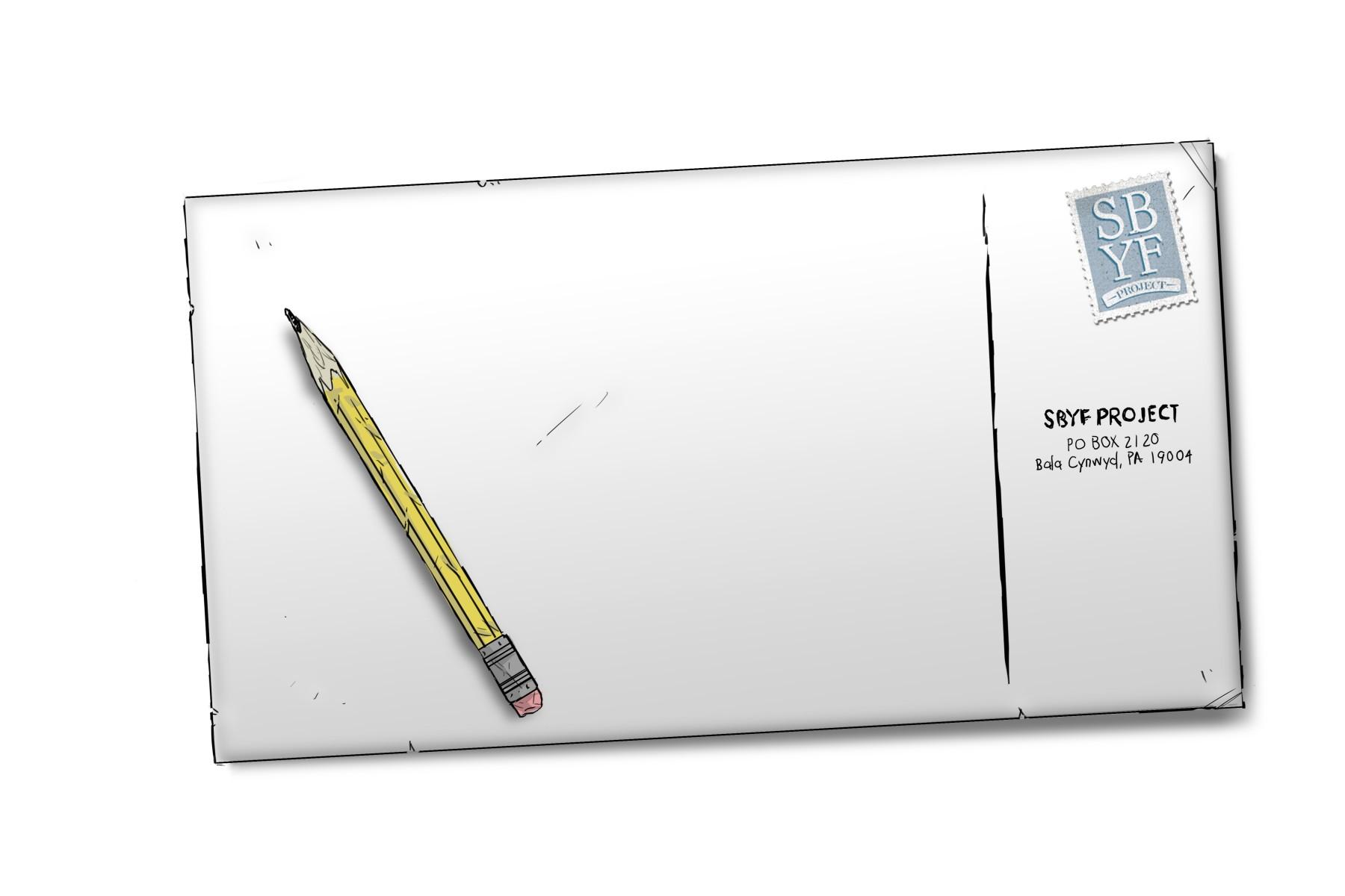 PostcardandPencil