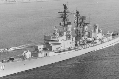 John was a civilian who served on the USS Mahan on the Tonkin Gulf off the coast of Vietnam during the Vietnam War.