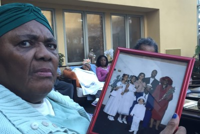 Ruth loves her family so much so that she talked over other people explaining whom everyone is in the photo. Each grandchild and where they are now and now proved she is of each of them. To the point when she forgot a grandchild's name I want through every bible name I know until we found it. Though she could not remember  much else she know her family and that's what matters.