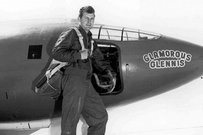 I interviewed MC over dinner. He told me a story about how when he was in the Air Force Academy cadet coral they got invited to the Kennedy Center Honors Ceremony to preform. But the got to meet Chuck Yeager and that was the thing everyone remembered best about the event.