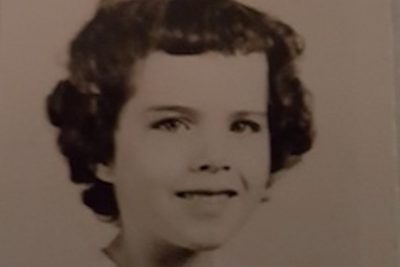 I interviewed my grandmother Bonnie Fuller in her home. Wearing a casual outfit of jeans and a sweatshirt, she sat comfortably on her couch in her living room, peering at me through her glasses. She recalls a memory of becoming lost at one of her favorite vacation spots, the Atlantic City beach, and tells the story of her lone adventure and eventual discovery. <br />
