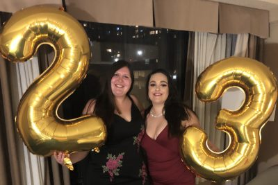 I interviewed my best friend Nicole on the bus home from New York City about our weekend trip to the Big Apple to celebrate my 23rd birthday. It was fun to recount the trip details together and reminisce on the weekend we just had.