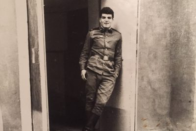I interviewed my father at my home in the suburbs. My father was a tall, fit guy who just got back from the army. After many applications and rejections, he got into medical school. It was difficult to apply to a prestigious school as a Jew in the Soviet Union due to great antisemitism. However, he managed to get in. He was in his early 20s, in his second year of medical school and attending school for a profession he dreamt of pursuing his entire life. My father considered this a very significant time in his life.<br />